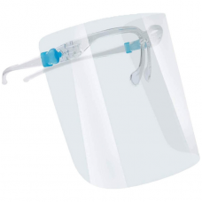 Protection Face Shield with glasses frame Blauw